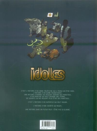 Dos idoles tome 3 - délivrance