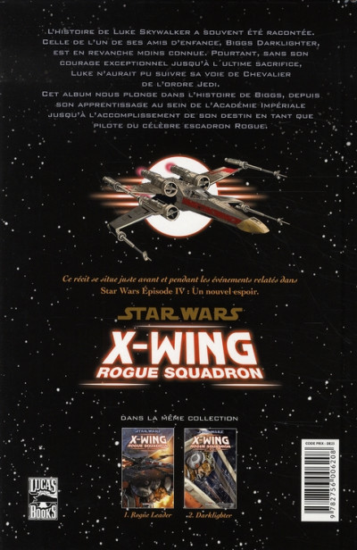 Dos star wars - x-wing rogue squadron tome 2 - darklighter