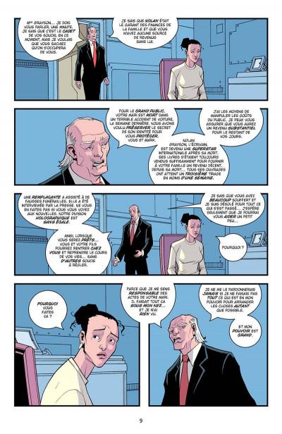 Page 0 invincible tome 3 - la relève
