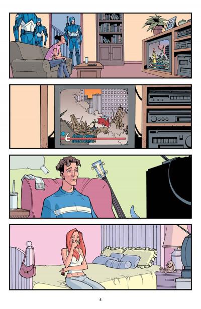 Page 5 invincible tome 3 - la relève