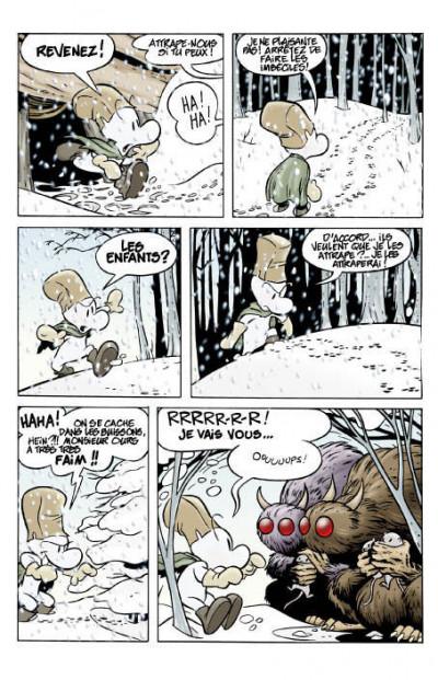 Page 2 bone tome 1 - la forêt sans retour - couleur