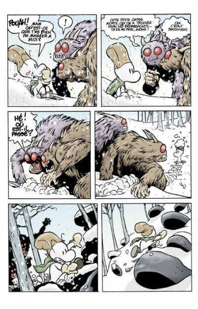 Page 4 bone tome 1 - la forêt sans retour - couleur