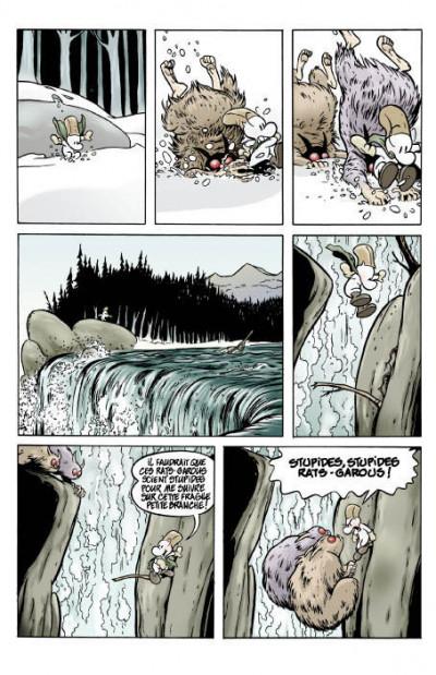 Page 5 bone tome 1 - la forêt sans retour - couleur