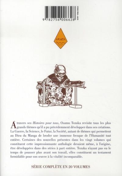Dos tezuka, histoires pour tous tome 4
