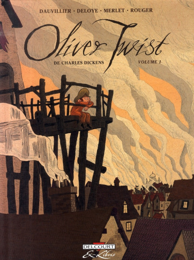 Couverture oliver twist, de charles dickens tome 1