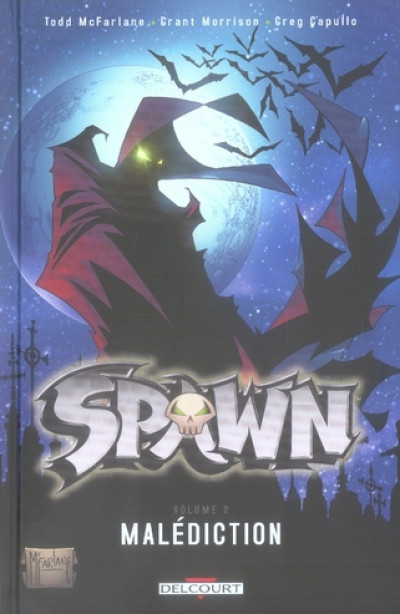 Couverture spawn tome 2 - malédiction