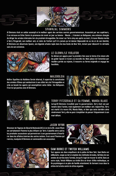 Page 3 spawn tome 2 - malédiction