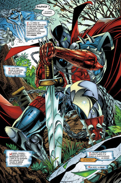 Page 9 spawn tome 2 - malédiction