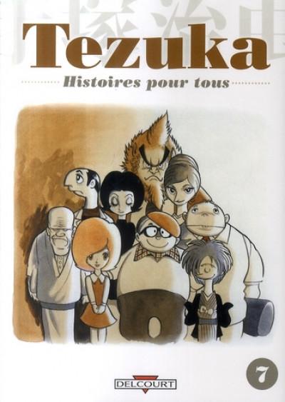 Couverture tezuka, histoires pour tous tome 7