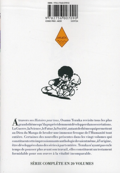 Dos tezuka, histoires pour tous tome 9