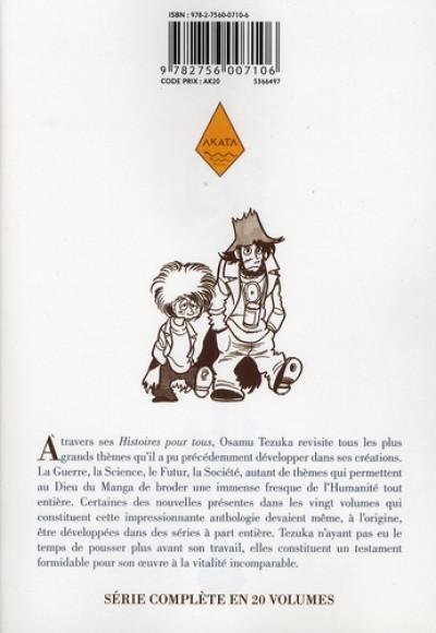 Dos tezuka, histoires pour tous tome 10