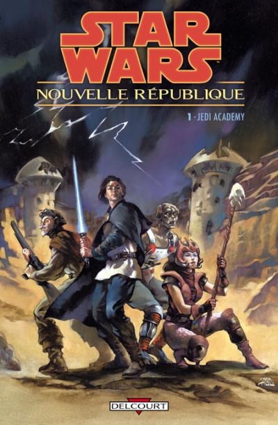 Couverture star wars - nouvelle république tome 1 - jedi academy