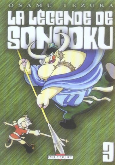 Couverture la légende de songoku tome 3