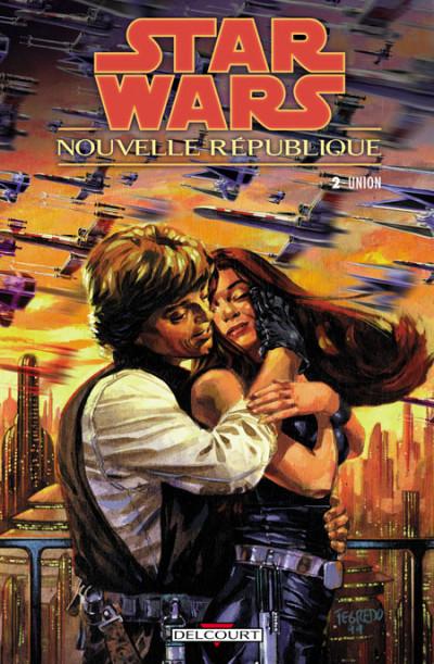 Couverture star wars - nouvelle république tome 2 - union