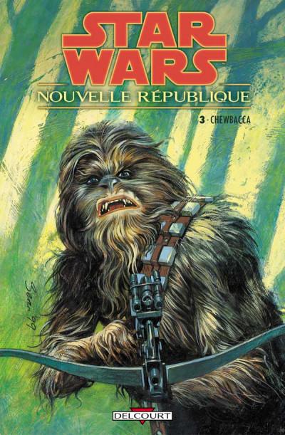 Couverture star wars - nouvelle république tome 3 - chewbacca