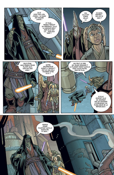 Page 7 star wars - le côté obscur tome 8 - aurra sing