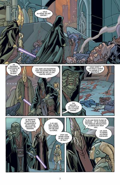 Page 8 star wars - le côté obscur tome 8 - aurra sing