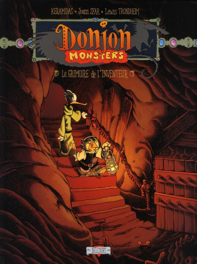 Couverture donjon monsters tome 12 - le grimoire de l'inventeur
