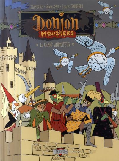 Couverture donjon monsters tome 11 - le grand animateur
