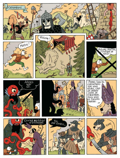 Page 2 donjon monsters tome 11 - le grand animateur