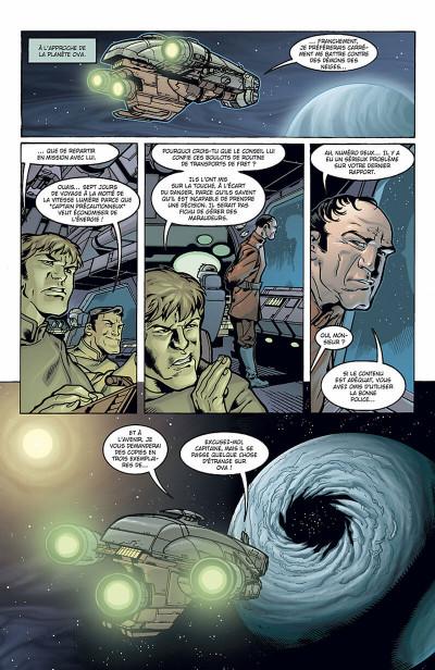Page 4 star wars - jedi tome 5 - au bout de l'infini