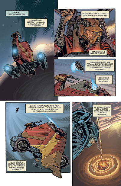 Page 7 star wars - jedi tome 5 - au bout de l'infini
