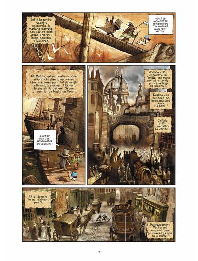 Page 0 sans famille tome 6 - l'héritage