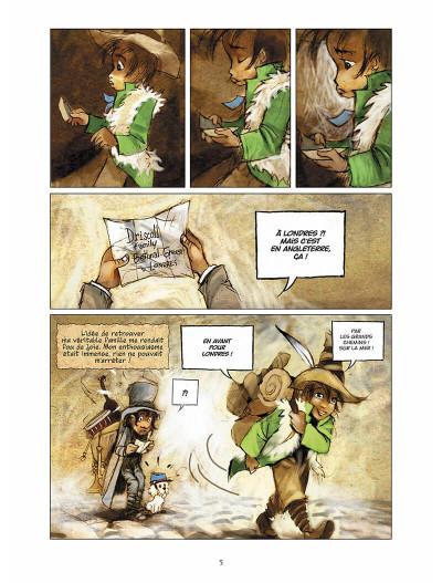 Page 6 sans famille tome 6 - l'héritage