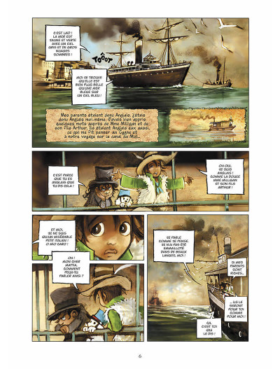 Page 7 sans famille tome 6 - l'héritage