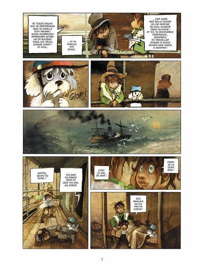Page 8 sans famille tome 6 - l'héritage