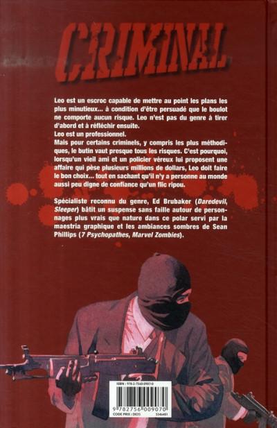 Dos criminal tome 1 - lâche
