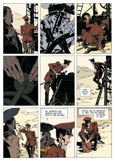 Page 1 dans la colonie pénitentiaire