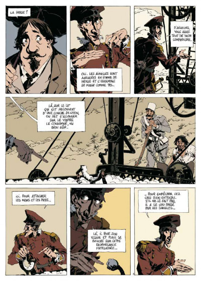 Page 3 dans la colonie pénitentiaire