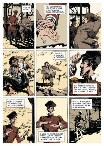 Page 4 dans la colonie pénitentiaire