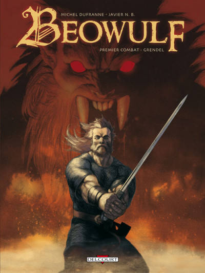 Couverture beowulf tome 1 - grendel