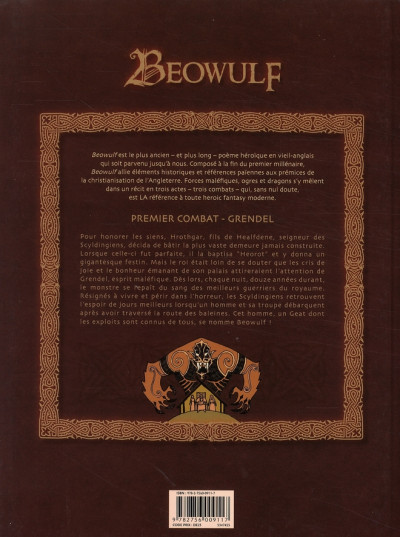 Dos beowulf tome 1 - grendel
