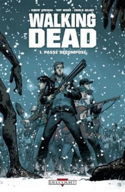 Couverture Walking dead tome 1
