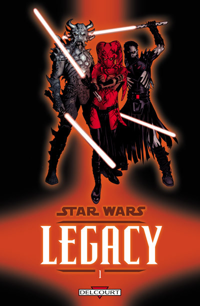 Couverture star wars - legacy tome 1 - anéanti