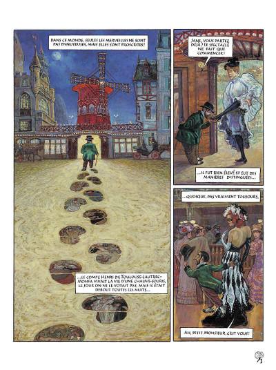 Page 4 le cabaret des muses tome 1 - au moulin-rouge - bordel des muses