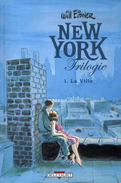 Couverture new york trilogie tome 1 - la ville