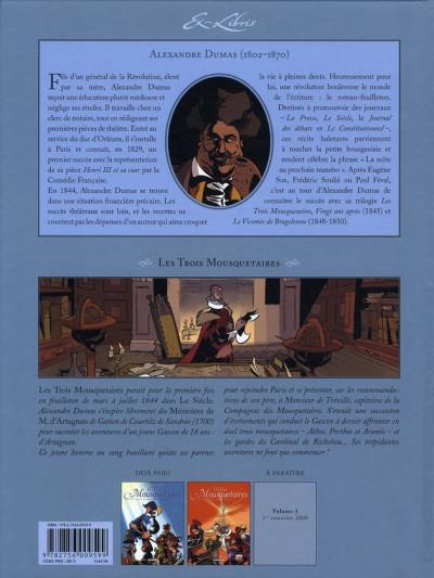 Dos les trois mousquetaires, d'alexandre dumas tome 2