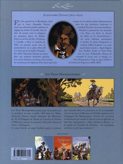 Dos les trois mousquetaires, d'alexandre dumas tome 3
