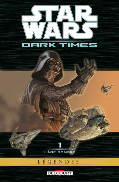 Couverture star wars - dark times tome 1 - l'âge sombre