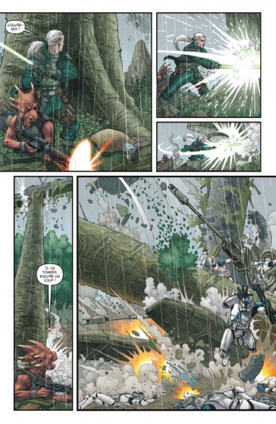 Page 2 star wars - dark times tome 1 - l'âge sombre