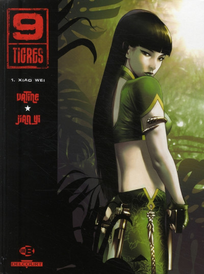 Couverture 9 tigres tome 1 - xiao wei