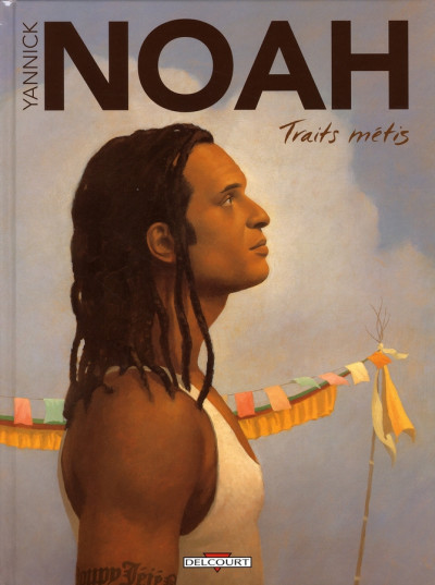 Couverture yannick noah ; traits métis