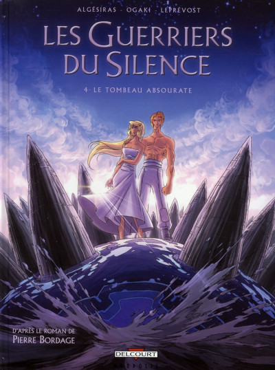 Couverture les guerriers du silence tome 4 - le tombeau absourate