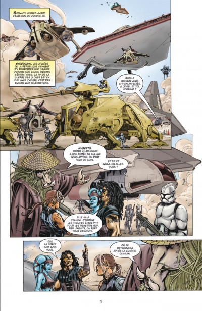 Page 1 star wars - dark times tome 2 - parallèles