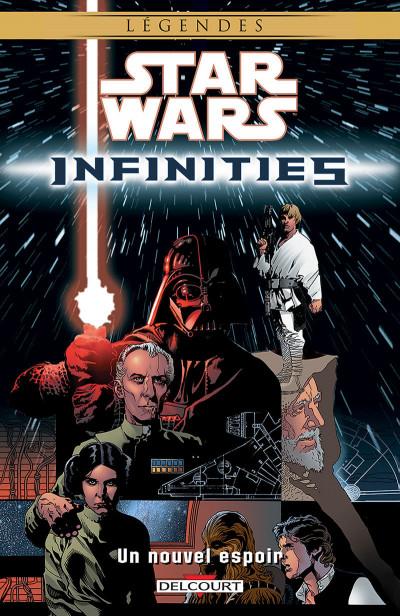 Couverture star wars - infinities tome 1 - un nouvel espoir