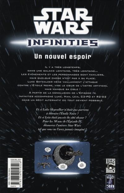 Dos star wars - infinities tome 1 - un nouvel espoir